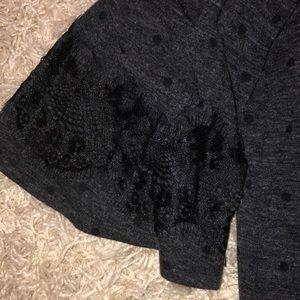 LOFT Sweaters - Loft cold shoulder 3/4 length shirt.